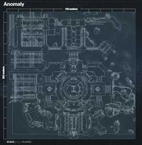 The Anomaly map overview