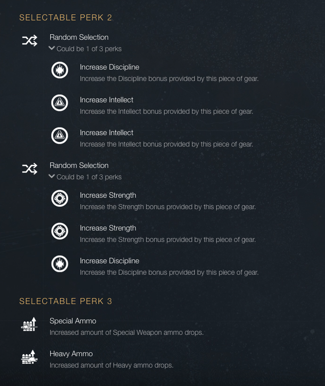Twilight Selectable Perks 2