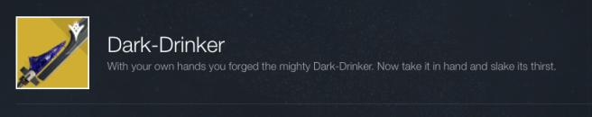 Dark Drinker