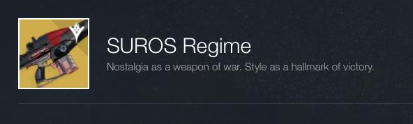 Suros Regime