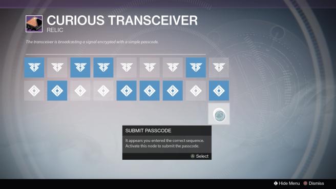 Curious Transceiver